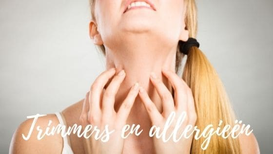 trimmers allergie